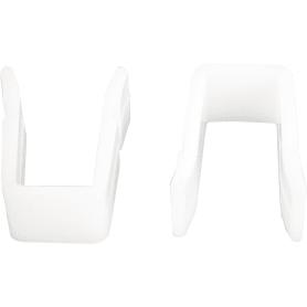 Стопор для пластмассовой шины Inspire, пластик, 2 шт.