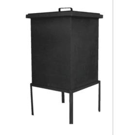 Коптильня Grifon Premium стационарная, 45.4x45.4x56 см, сталь