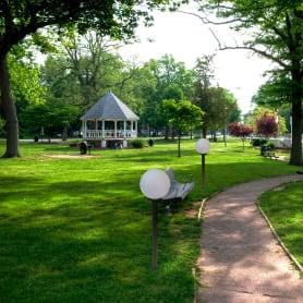 Шар уличный Palla, 1xE27x60 Вт, 300 мм, пластик, цвет белый