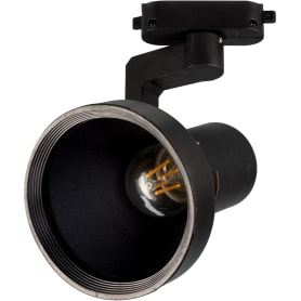 Трековый светильник «Nido» со сменной лампой Е27 60 Вт, 3 м², цвет черный