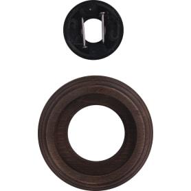 Рамка для розеток и выключателей «Старое Дерево», 1 пост, дерево