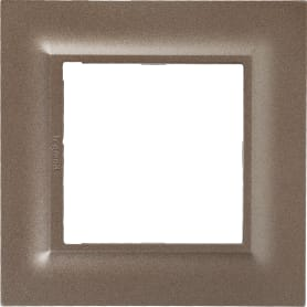 Рамка для розеток и выключателей Legrand «Structura», 1 пост, цвет шампань