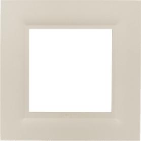 Рамка для розеток и выключателей Legrand Structura 1 пост, цвет слоновая кость