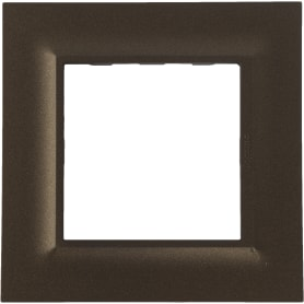 Рамка для розеток и выключателей Legrand «Structura», 1 пост, цвет бронза
