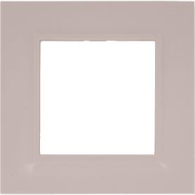 Рамка для розеток и выключателей Legrand «Structura», 1 пост, цвет розовый