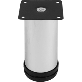 Опора регулируемая SL-001, 120х50 мм, сталь, цвет хром