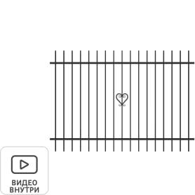 Секция заборная «Веста» 2.5x1.75 м