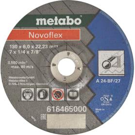 Диск зачистной по нержавеющей стали Metabo, 180х6х22 мм