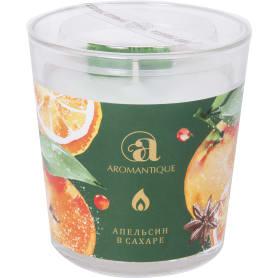 Свеча ароматизированная «Апельсин в сахаре»