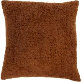 Подушка «Шерпа», 45х45 см, цвет шоколад