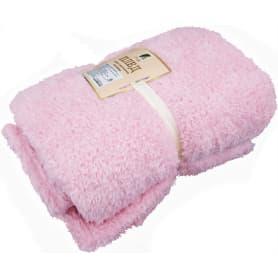 Плед «Шерпа» 150х195 см, цвет розовый