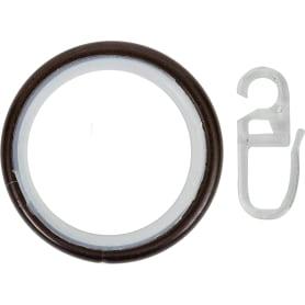 Кольцо, металл, цвет венге, 2 см, 10 шт.