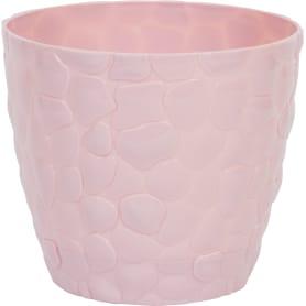 Кашпо цветочное «камни», D22, 4, 8л. пластик, Розовый