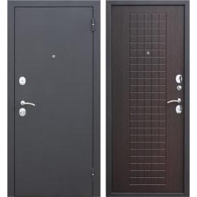 Дверь входная металлическая Гарда Муар, 860 мм, правая, цвет венге
