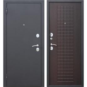 Дверь входная металлическая Гарда Муар, 960 мм, левая, цвет венге