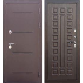 Дверь входная металлическая Isotema 11 см, 960 мм, правая, цвет антик венге