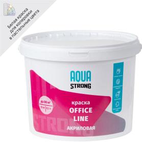 Краска для офиса Office Line износостойкая цвет белый 12 кг