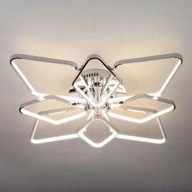 Светильник потолочный светодиодный Eurosvet Kalifea 90081/8, 30 м², белый свет, цвет хром