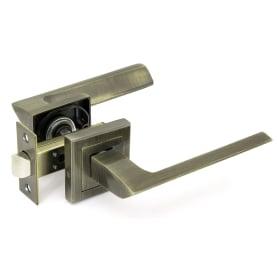 Комплект дверных ручек 26L 100 AB, без запирания, цвет античная бронза