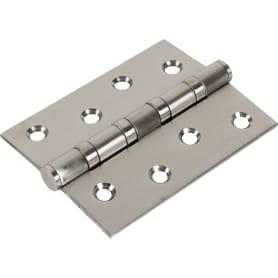 Петля универсальная 4BB 100х75х2.5 мм, цвет нержавеющая сталь