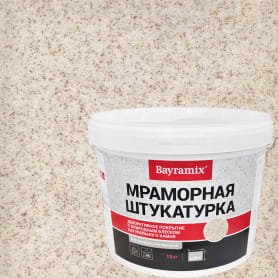 Штукатурка мраморная Bayramix «Kashmir White-N» 15 кг