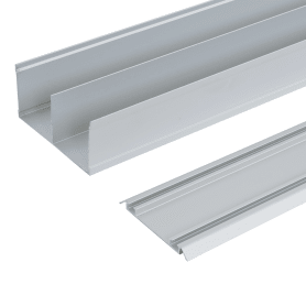 Комплект направляющих Spaceo 1383 мм цвет серебро