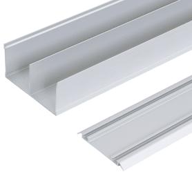 Комплект направляющих Spaceo 2662 мм цвет серебро