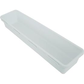 Лоток 8х30х5 см, цвет белый