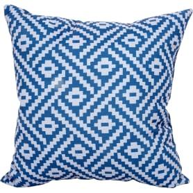 Подушка декоративная «Геометрия» 40х40 см цвет синий