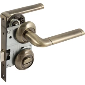 Комплект дверных ручек Set72/A Rex TL, цвет бронза