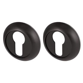 Накладка под цилиндр RM BL-24, цвет чёрный
