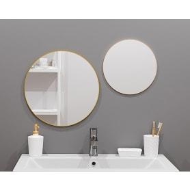 Зеркало Ferro Ø25 см цвет золотой