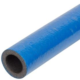Изоляция для труб СуперПротект, Ø18 мм, 100 см, полиэтилен, цвет синий