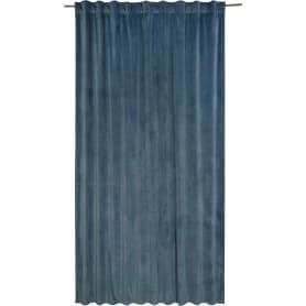 Штора на ленте «Dubbo Ink», 200х280 см, цвет синий