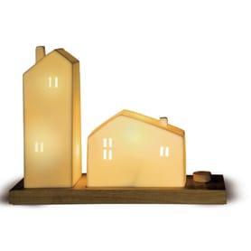 Декоративный светильник «Домик» с диммером