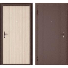 Дверь входная металлическая Ламистайл, 880 мм, левая, цвет капучино