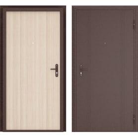 Дверь входная металлическая Ламистайл, 880 мм, правая, цвет капучино