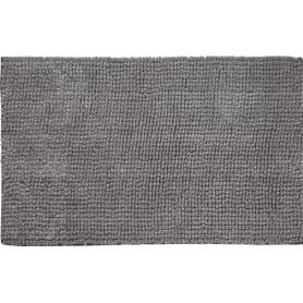 Коврик для ванной комнаты Ripple 50х80 см цвет серый