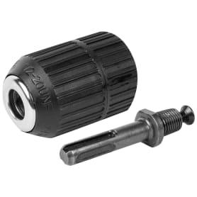 Патрон сверлильный быстрозажимной БЗП Спец, 1.5-13.0 мм и адаптер SDS-plus