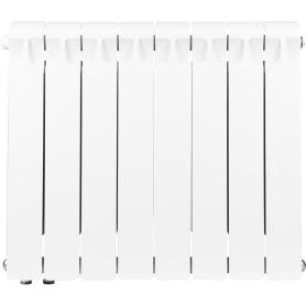 Радиатор Rifar В500, 8 секций, нижнее подключение, 500 мм, биметалл
