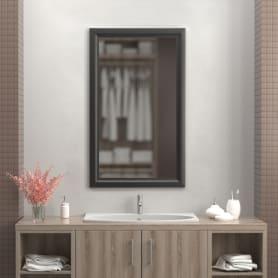 Зеркало 60х100 см цвет чёрный матовый
