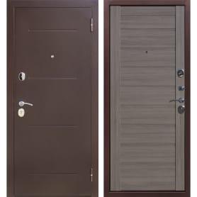 Дверь входная металлическая Ницца, 860 мм, правая, цвет грей царга