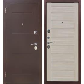 Дверь входная металлическая Ницца, 960 мм, левая, цвет ларче