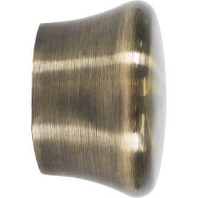 Наконечник «Заглушка», алюминий, цвет золото антик, 2.8 см, 2 шт.