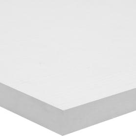 Деталь мебельная 600x300x16 мм ЛДСП, белый премиум, кромка со всех сторон