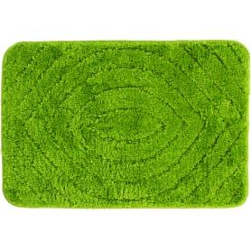Коврик для ванной комнаты Eye 40х60 см цвет зелёный