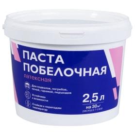 Паста побелочная латексная цвет белый 3.8 кг 2.5 л