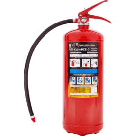 Огнетушитель порошковый Ярпожинвест ОП-4 ABCE, 4.7 л/4.2 кг