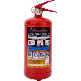 Огнетушитель порошковый Ярпожинвест ОП-2 ABCE, 2.3 л/2 кг