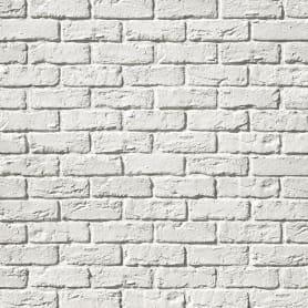 Плитка декоративная Вельс Брик белая 0,75 м²